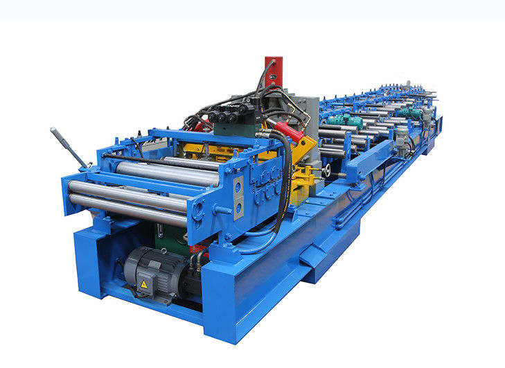 Automatic C Shape Steel Forming Machine , C Channel Making Machine High Speed